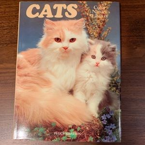 vintage cats hardcover book by peggy wratten